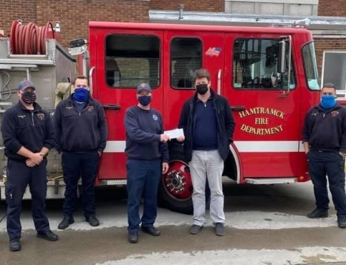 Sterling Services Answers the Call to Assist the Hamtramck Fire Department with Purchasing of New Equipment