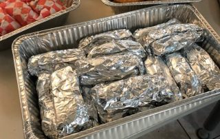 Kelly's Bar food for Hamtramck Police and Fire May 2020