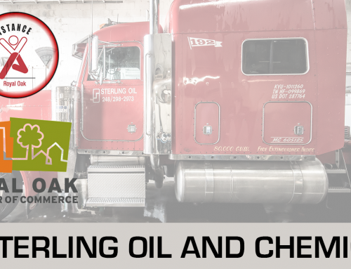 Sterling Oil Gives Back to the Community; Donates to Royal Oak Chamber of Commerce Adopt-a-Family Intiative